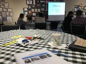 Indiana Arts Commission On-Ramp Weekend Class