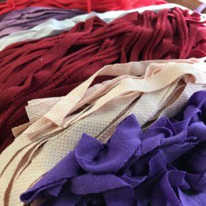 Strips for Beverly's custom fabric