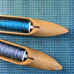 Handwoven Fabric - two shuttles
