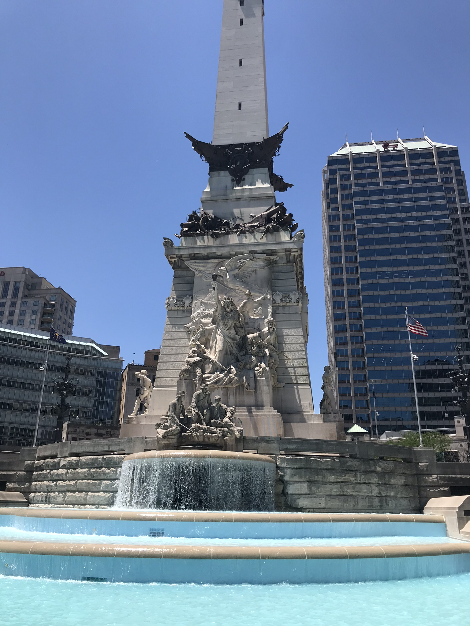 Monument Circle Indianapolis