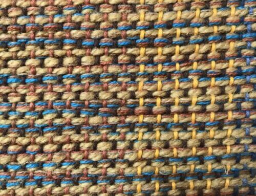 Plain Weave (Weaving Pattern Series #1)