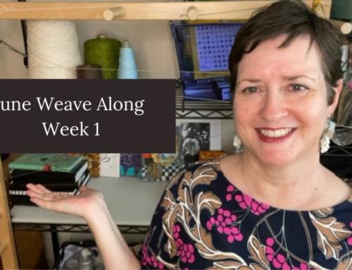 Week 1 of the June Weave Along