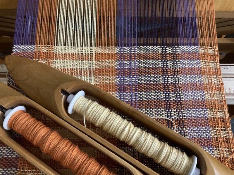 lace weaving pattern