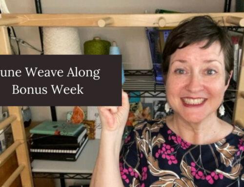 Bonus Week of the June Weave Along