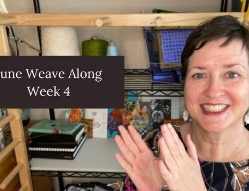 Week 4 of the June Weave Along