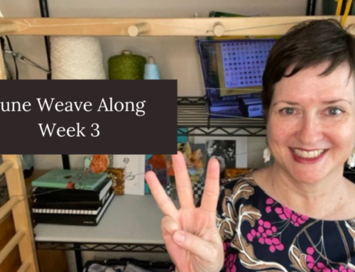 Week 3 of the June Weave Along
