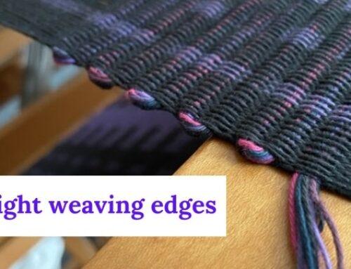 Straight Weaving Edges